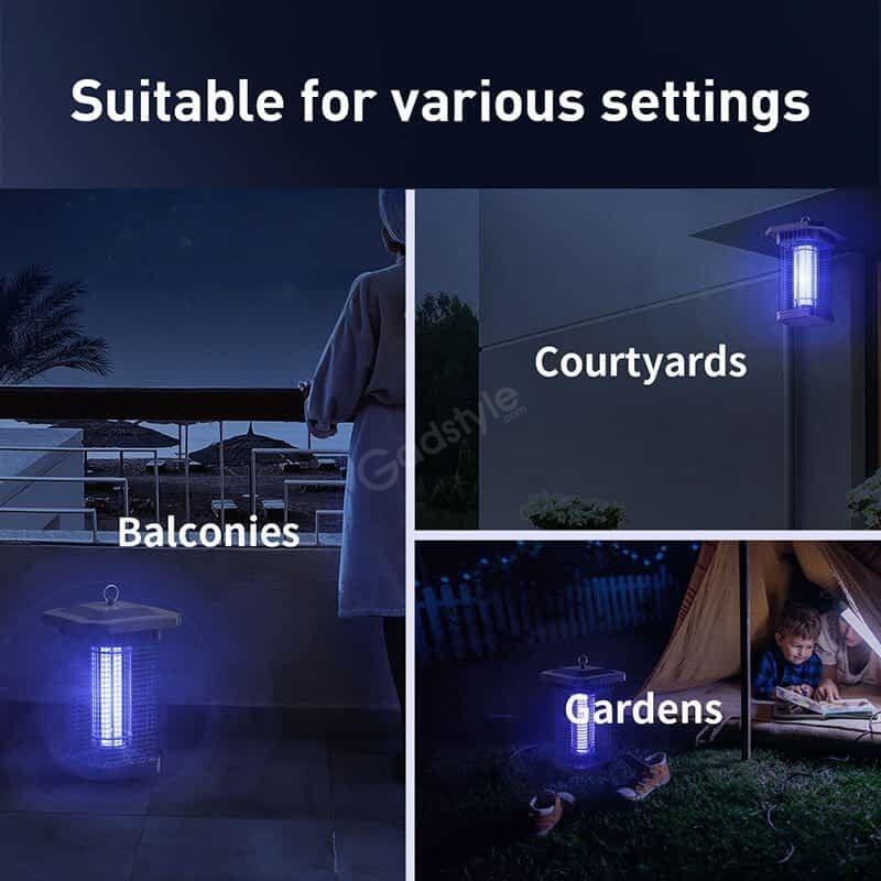 Baseus Pavilion Courtyard Mosquito Killer (4)