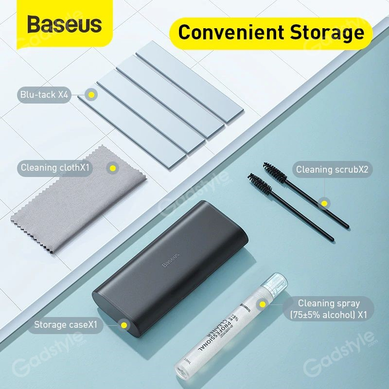 Baseus Portable Cleaning Set For Tablet Mobile Phone Screen Cleaner (3)