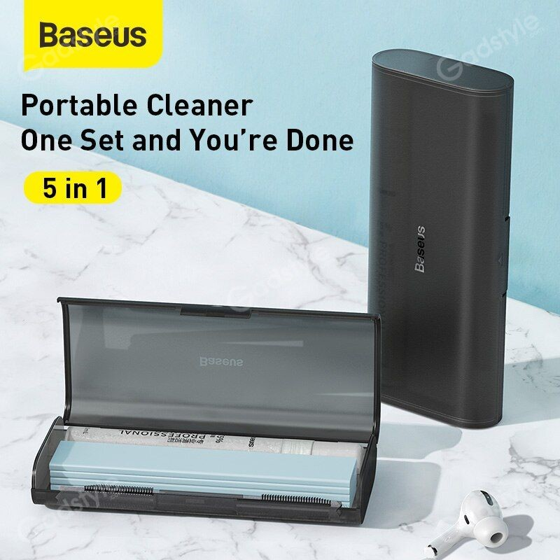 Baseus Portable Cleaning Set For Tablet Mobile Phone Screen Cleaner (6)