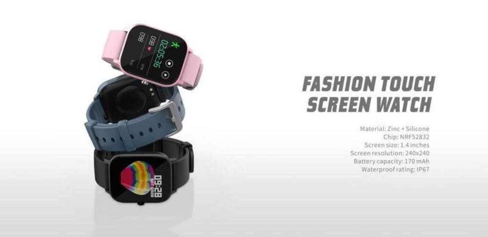 Havit M98 Smart Watch Ultra Thin Watch (6)