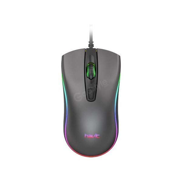 Havit Ms72 Cool Rgb Led Usb Gaming Mouse (3)