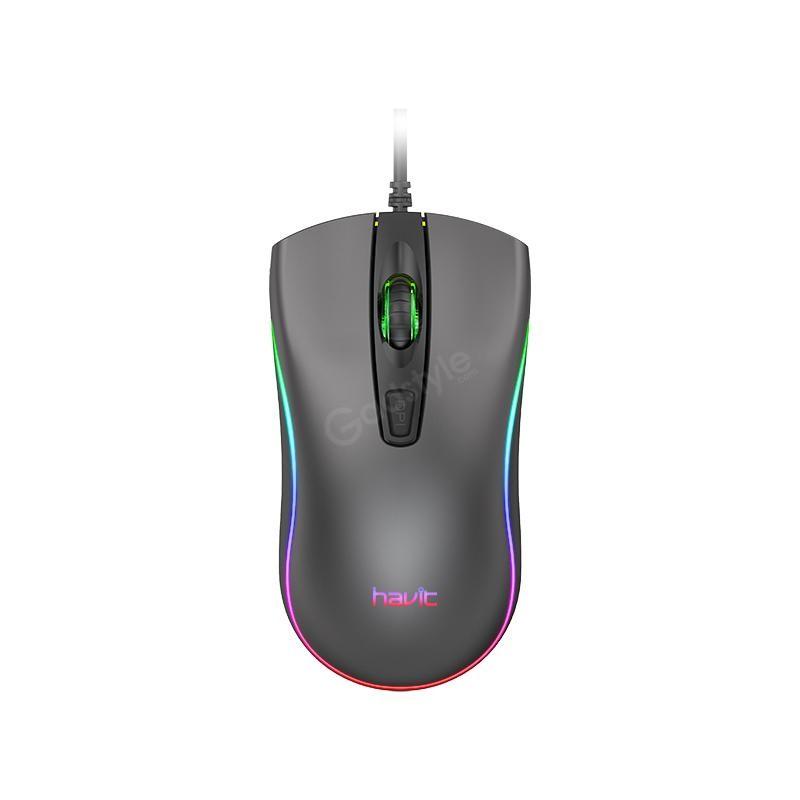 Havit Ms72 Cool Rgb Led Usb Gaming Mouse (3)