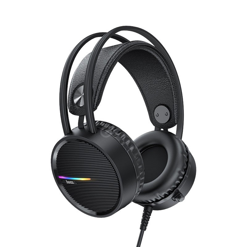 Hoco W100 Portable Wired Gaming Headphone Over Ear Headset With Mic (3)