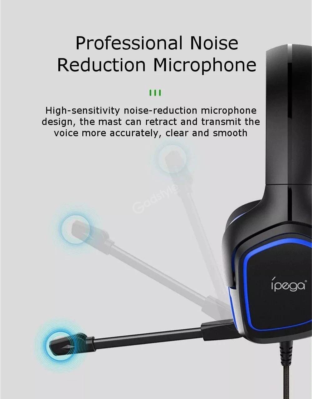 Ipega Pg R006 Professional Wired Gaming Headphone (8)