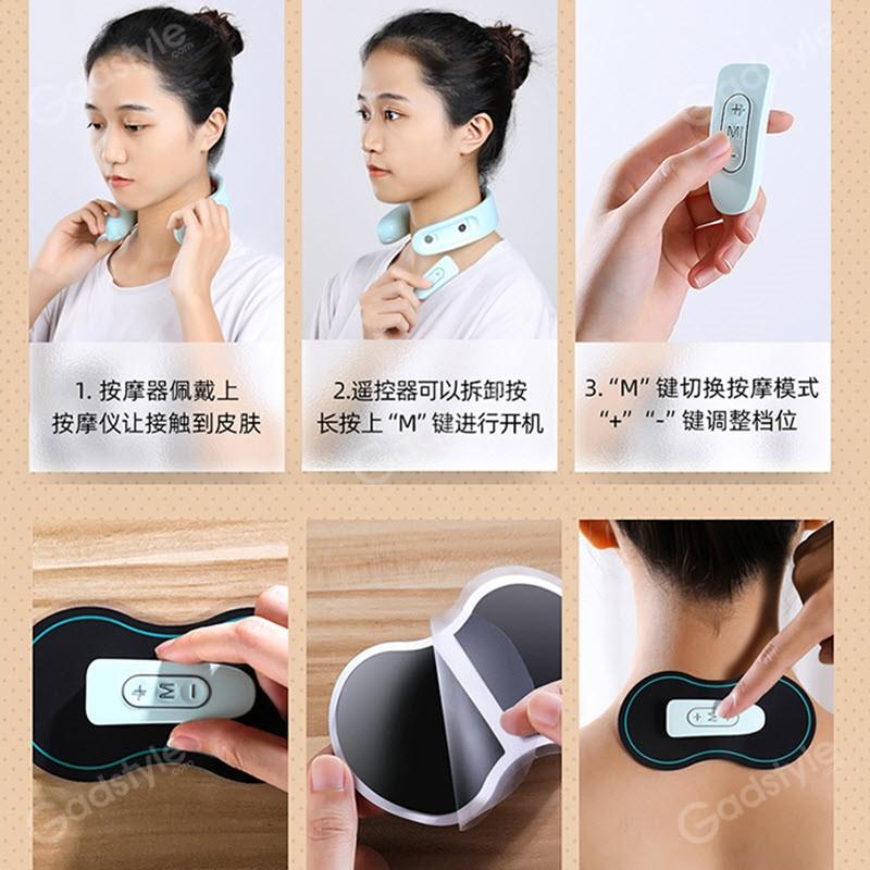 Joyroom Jr Gh103 Intelligent Neck Massager For Shoulder And Neck (5)