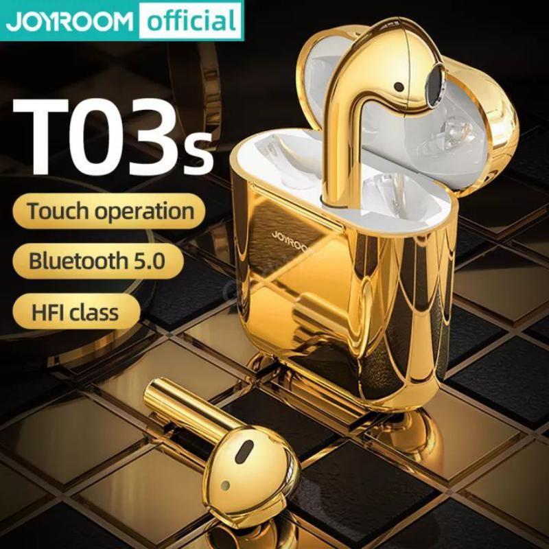 Joyroom Jr T03s Earbuds Gold (2)