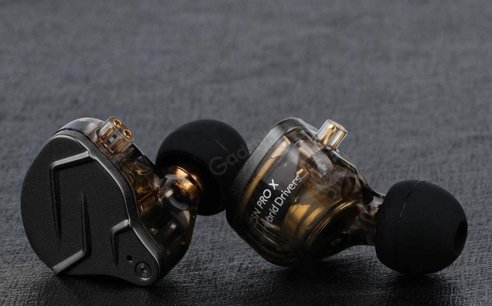 Kz Zsn Pro X Dual Driver 1ba1dd Hybrid Metal Earphones (2)