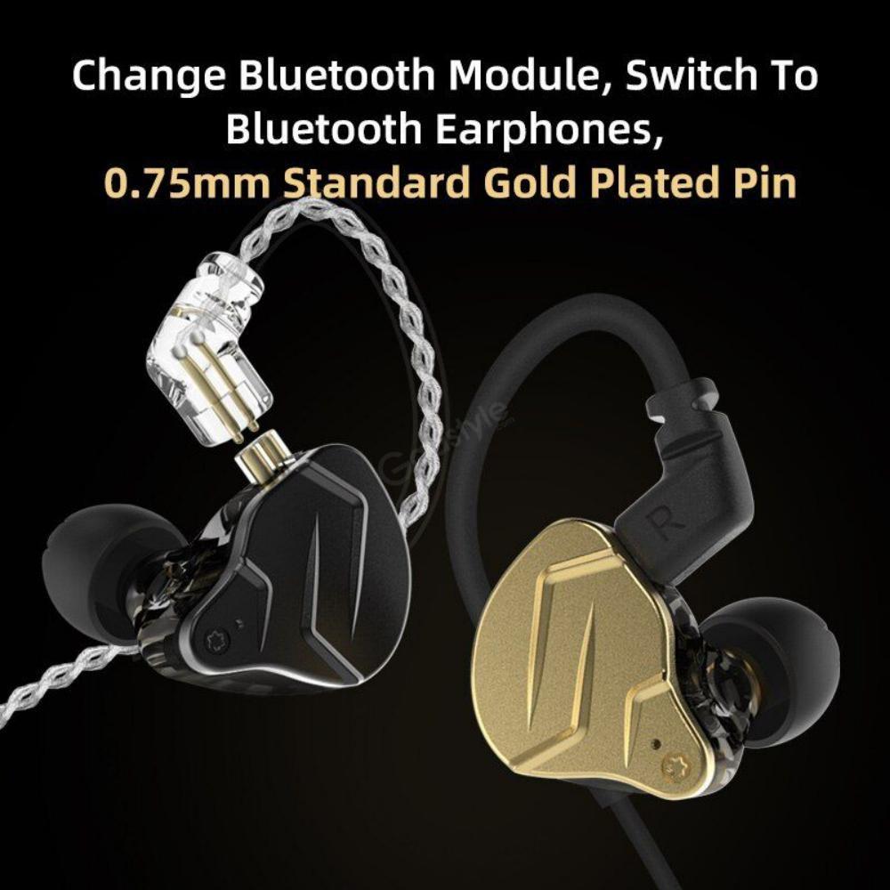 Kz Zsn Pro X Dual Driver 1ba1dd Hybrid Metal Earphones (7)