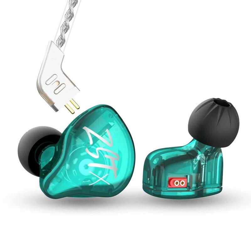 Kz Zst X Hybrid Driver In Ear Earphones (1)