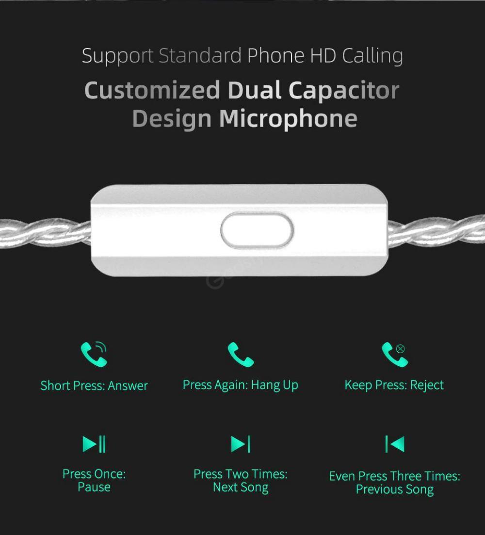 Kz Zst X Hybrid Driver In Ear Earphones (5)