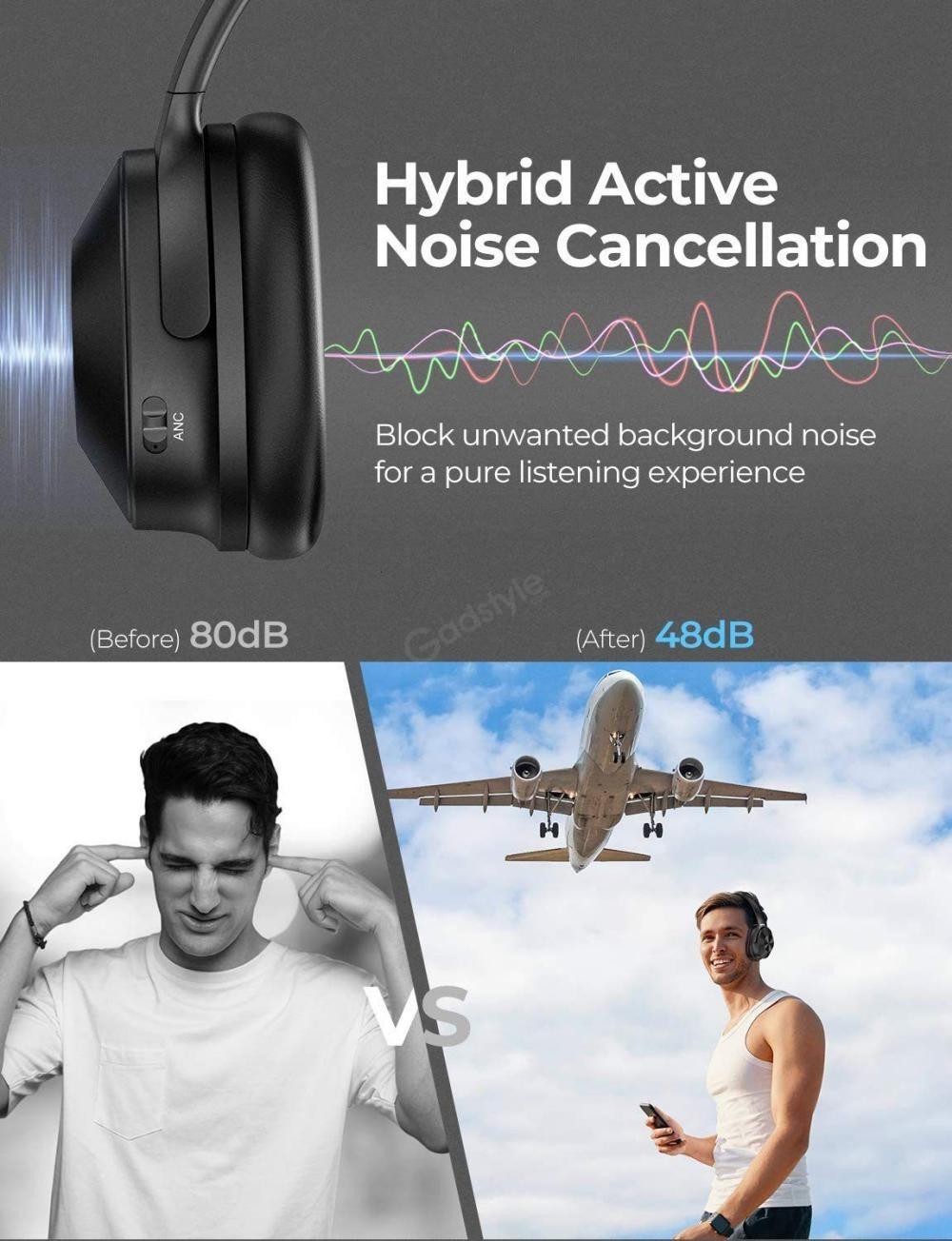Mpow H12 Hybrid Active Noise Cancelling Headphones (3)