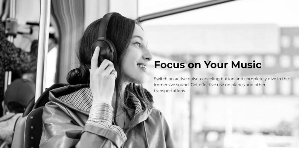 Mpow H12 Hybrid Active Noise Cancelling Headphones (6)