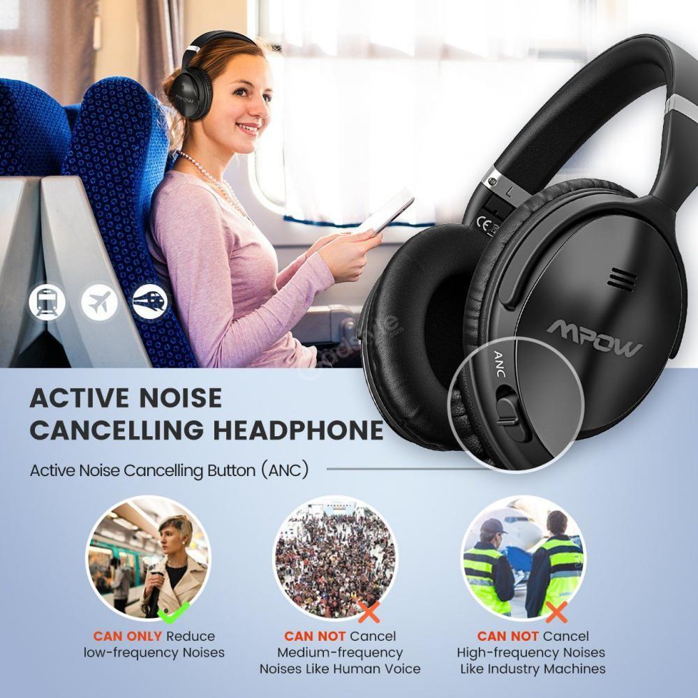 Mpow H5 Active Noise Cancelling Headphones (3)