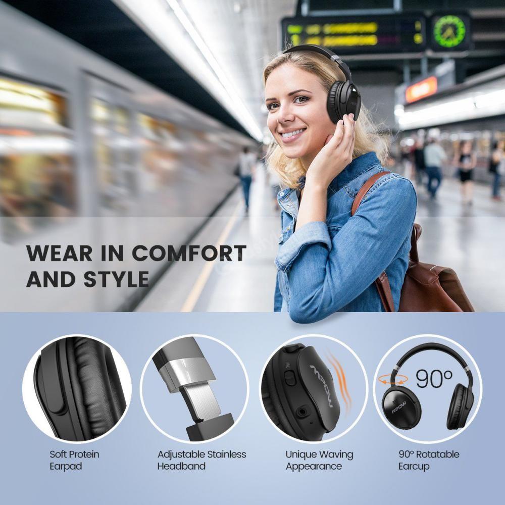 Mpow H5 Active Noise Cancelling Headphones (4)