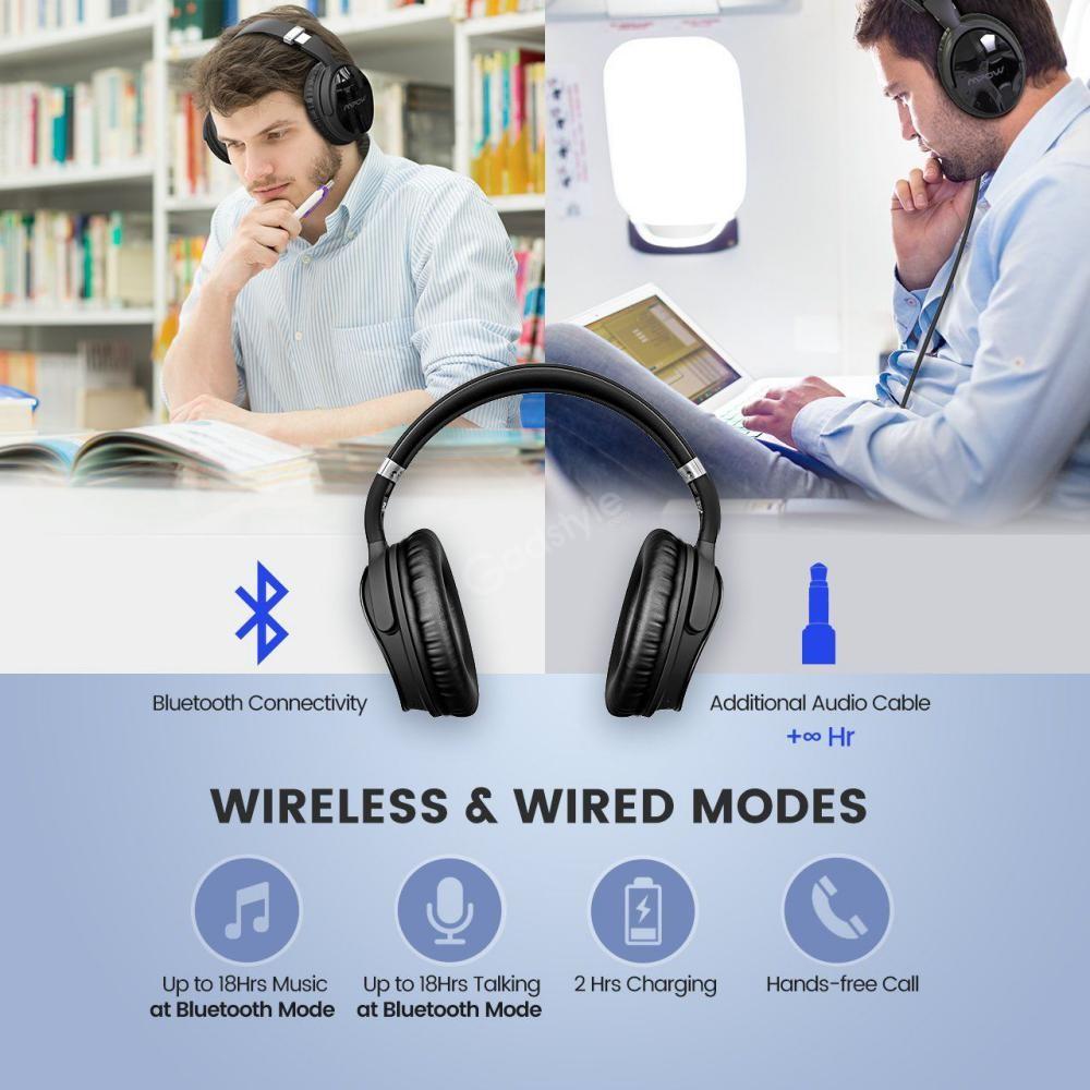 Mpow H5 Active Noise Cancelling Headphones (5)