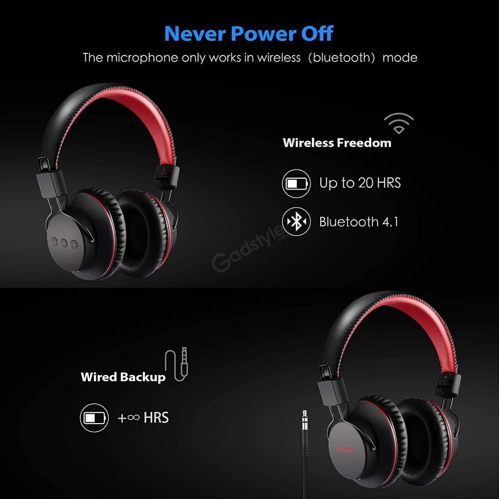 Mpow X3 0 Wireless Over Ear Headphones (1)