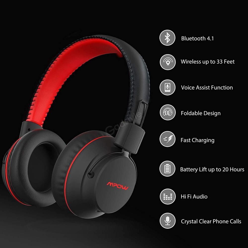 Mpow X3 0 Wireless Over Ear Headphones (2)