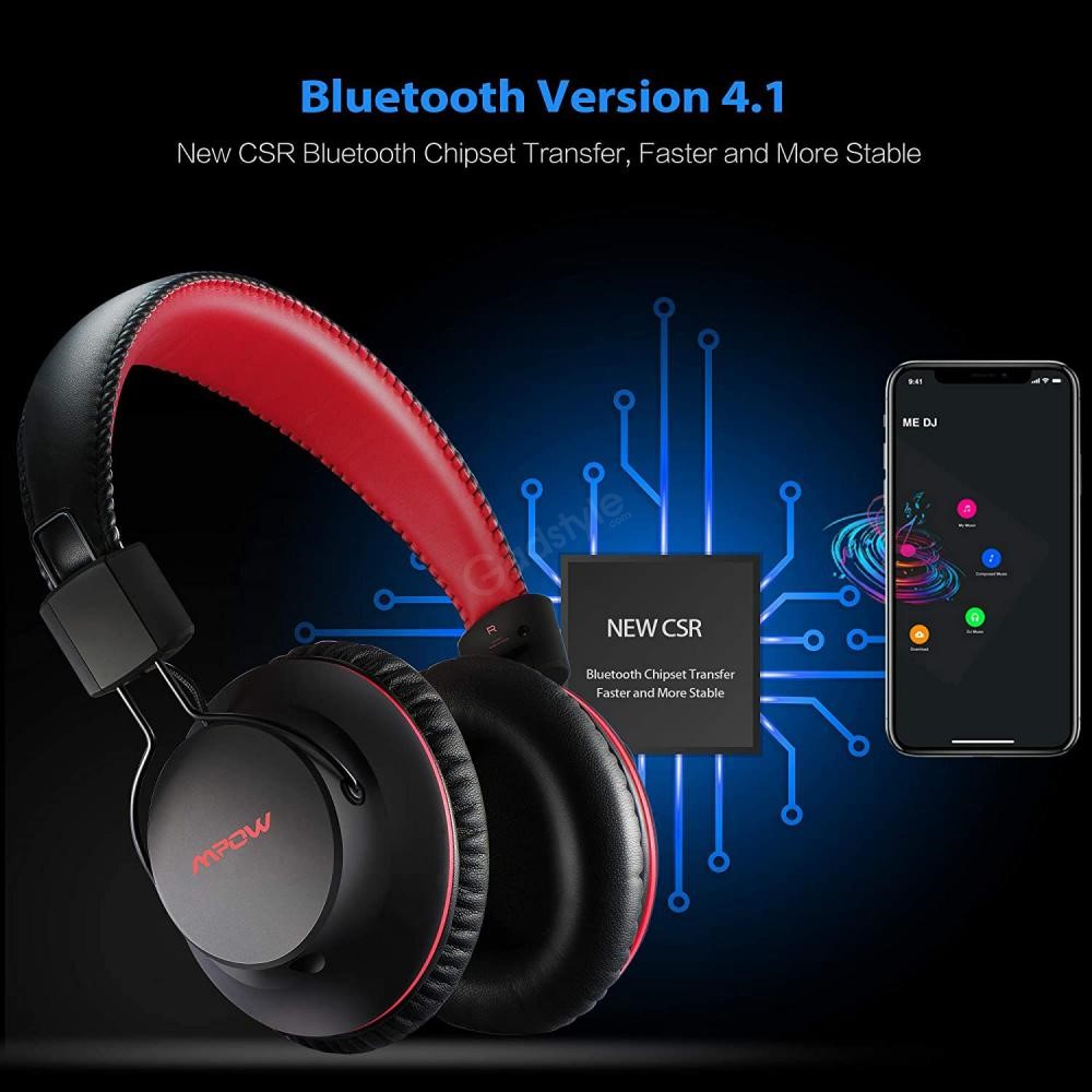 Mpow X3 0 Wireless Over Ear Headphones (6)