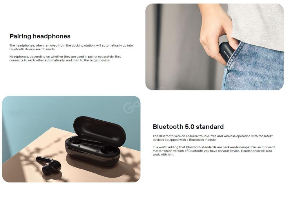Nillkin Freepods Fp01 Tws Blutooth 5 0 True Wireless Earbuds (2)