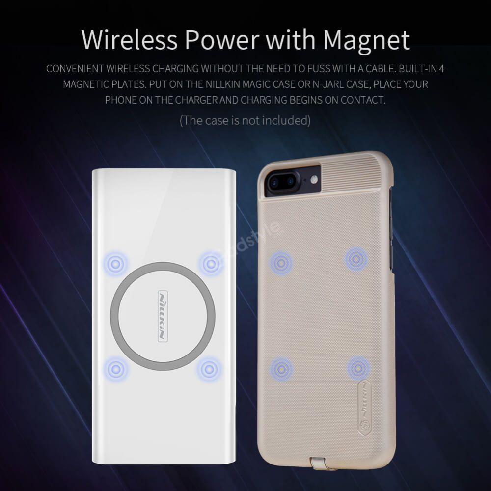Nillkin Istar Wireless Charger Power Bank 10000mah (4)