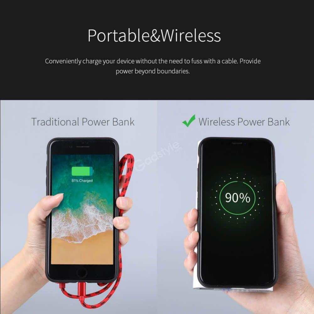 Nillkin Istar Wireless Charger Power Bank 10000mah (6)