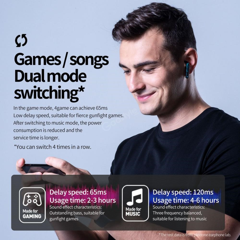 Plextone 4game Tws Gaming Earphone (1)