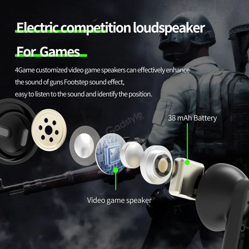 Plextone 4game Tws Gaming Earphone (2)