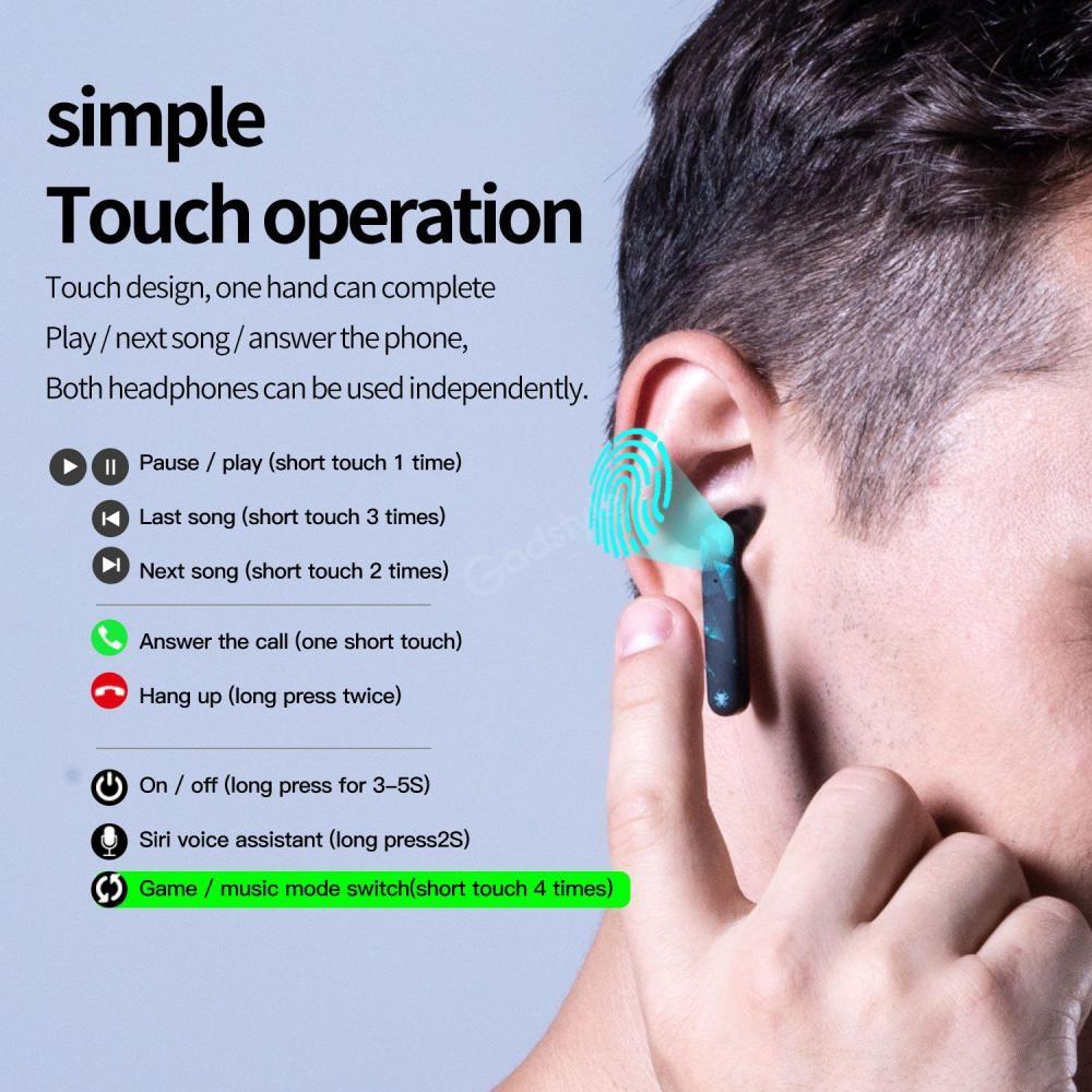 Plextone 4game Tws Gaming Earphone (7)