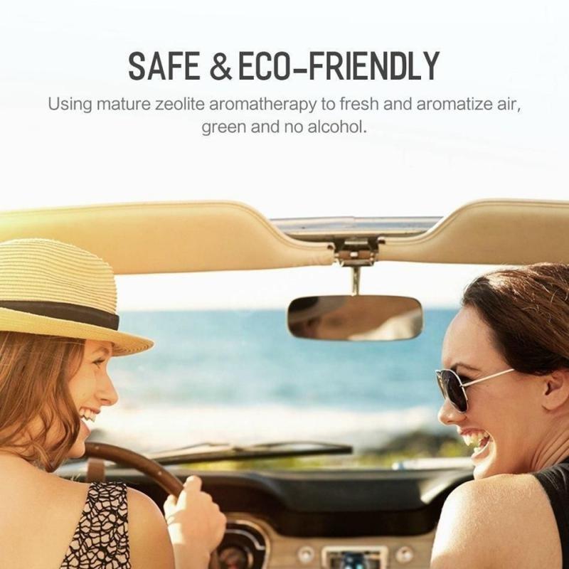 Rock Fond Series Car Aroma Diffuser Aluminum Exterior Air Freshener (2)