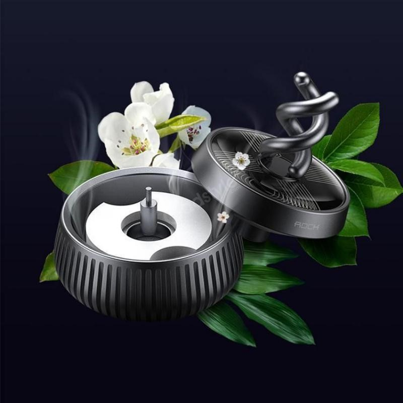 Rock Fond Series Car Aroma Diffuser Aluminum Exterior Air Freshener (5)