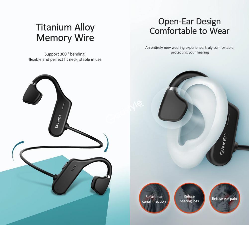 Usams Bone Conduction Wireless Sports Headphones Us Jc001 (1)