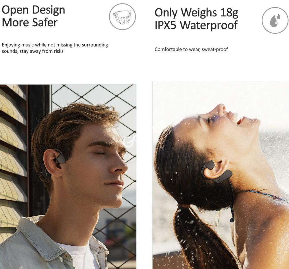 Usams Bone Conduction Wireless Sports Headphones Us Jc001 (4)