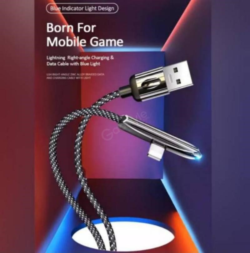 Usams U34 5a Alloy Braided Gaming Cable Type C (1)