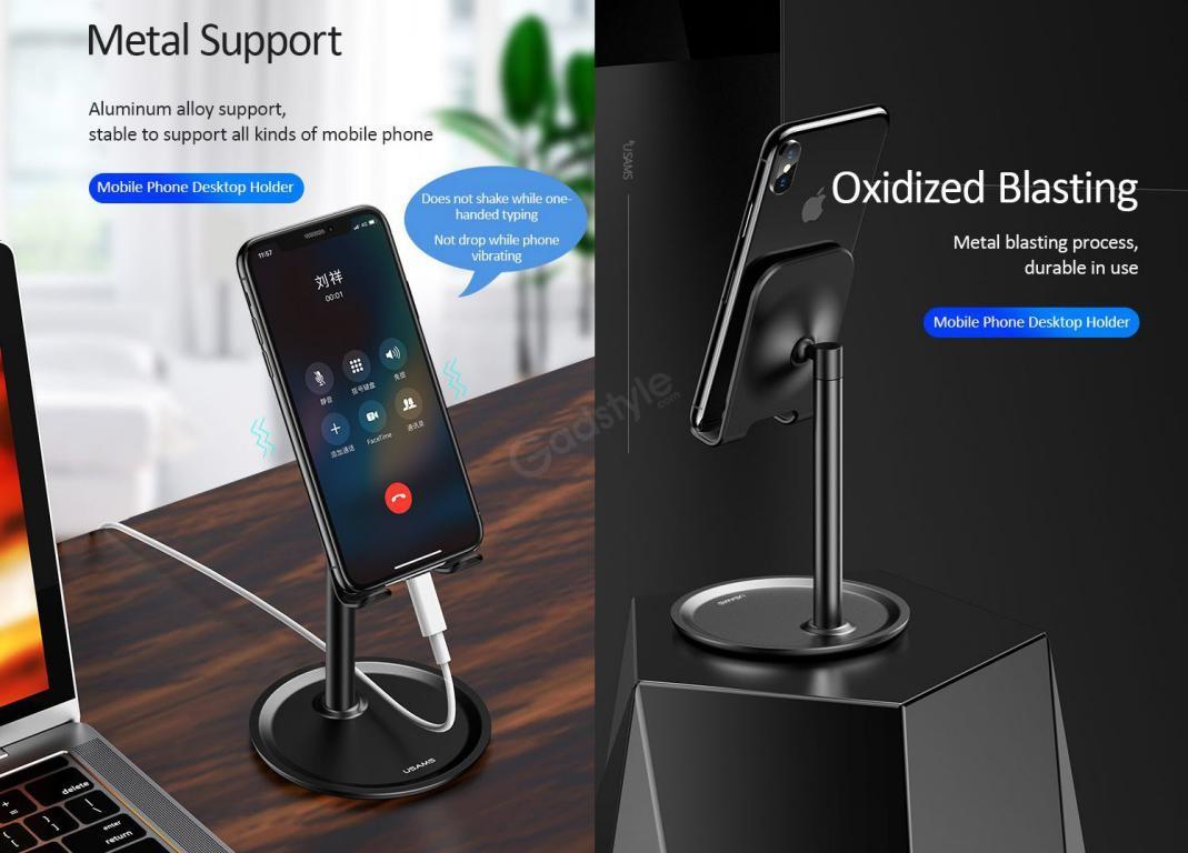 Usams Us Zj048 Mobile Phone Desktop Holder (2)
