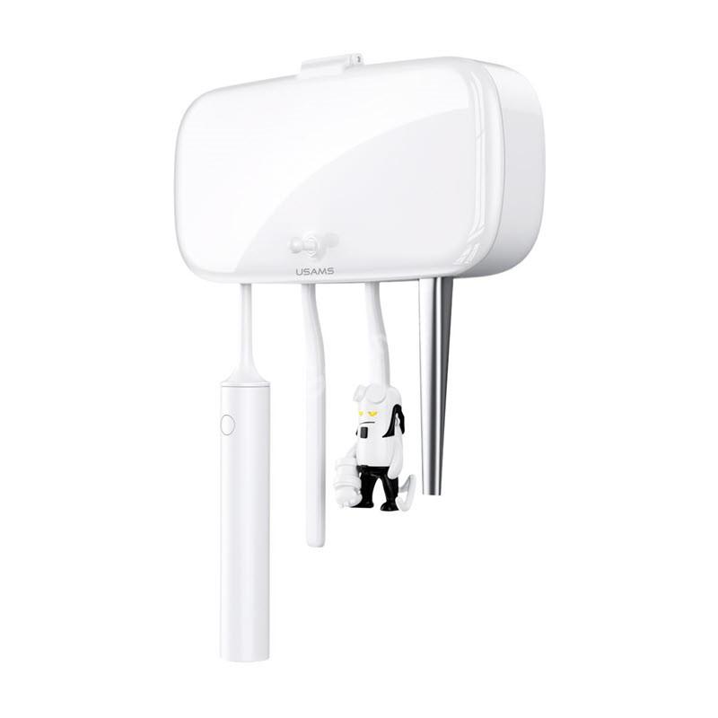 Usams Uv Toothbrush Sterilizer With Toothpaste Holder (6)