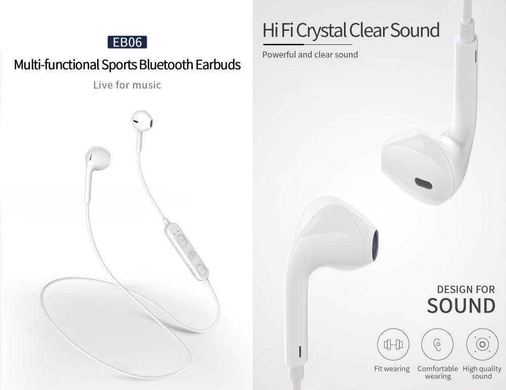 Wiwu Eb06 Bluetooth Hifi Sound Stereo Sports Earphones (5)