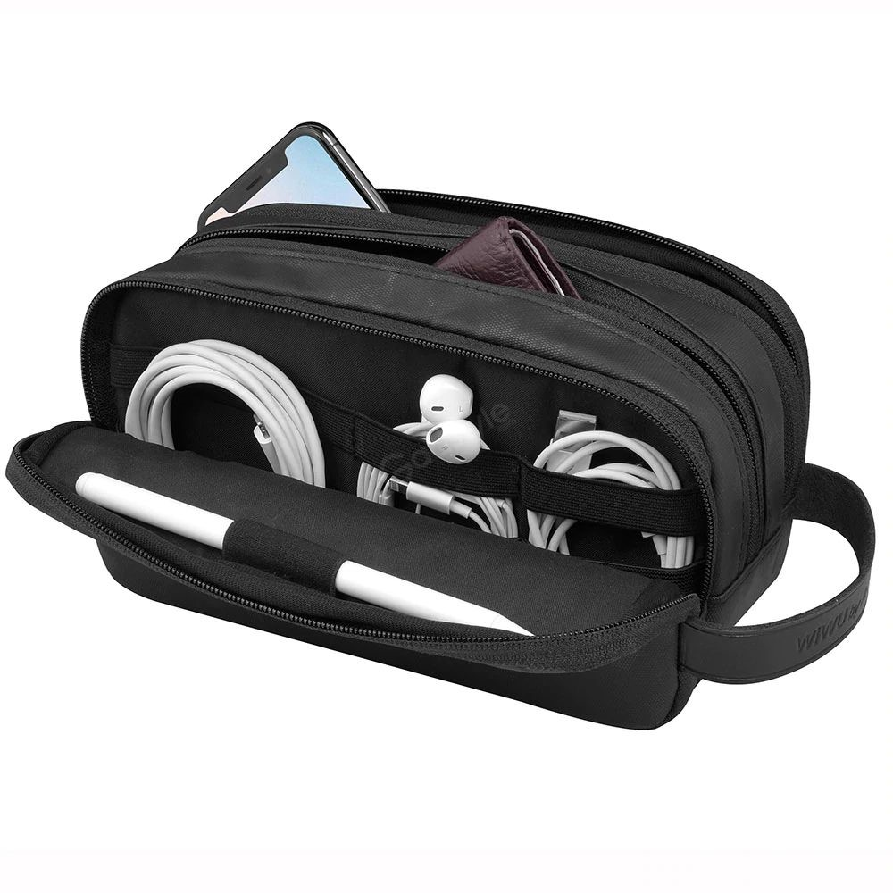 Wiwu Electronic Storage Bag Portable Design Travelling Organize Carry Pouch (1)
