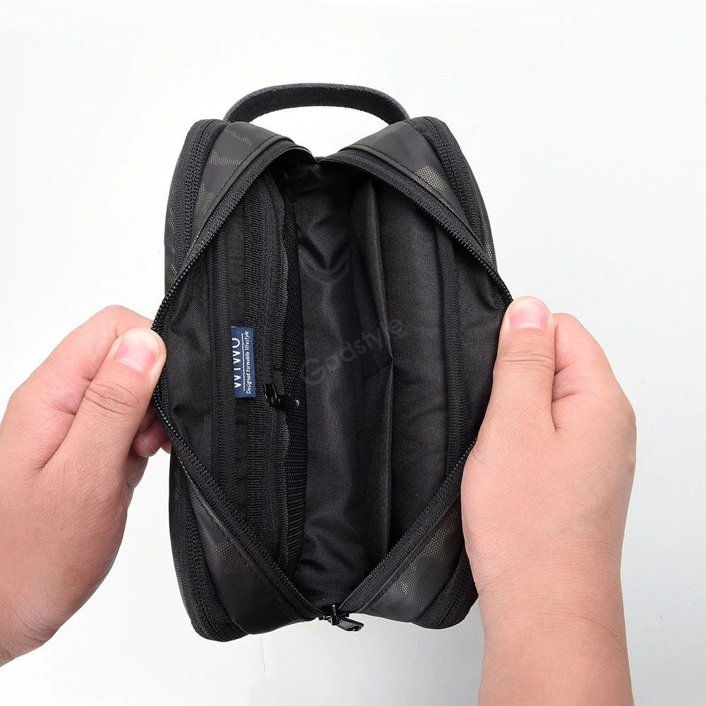 Wiwu Electronic Storage Bag Portable Design Travelling Organize Carry Pouch (4)