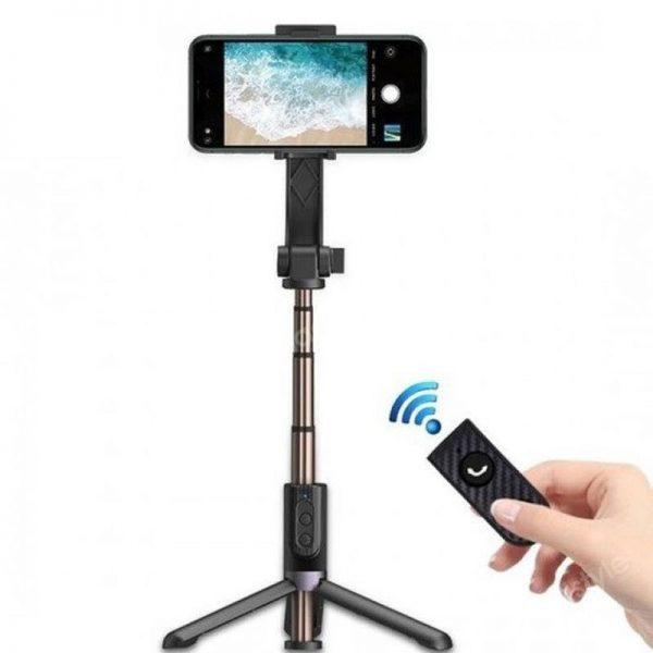 Wiwu Tgs 301 Tripod Gimbal Bluetooth Selfie Stick (2)