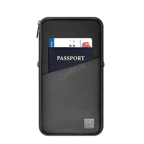 Wiwu Travel Mate Passport Holder Travel Document Organizer Bag (4)