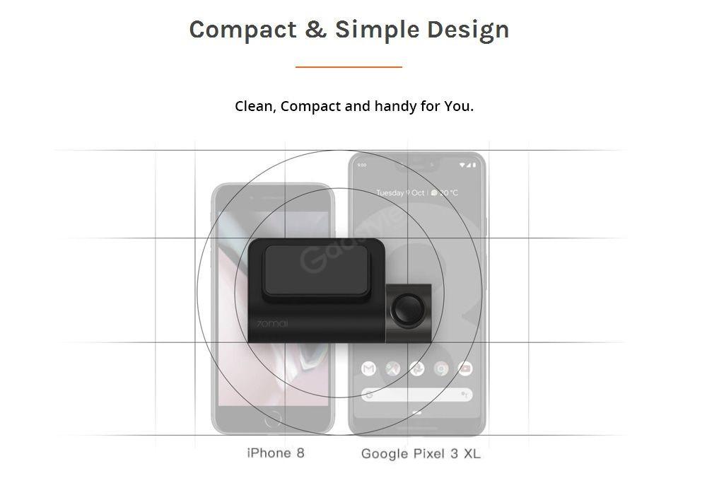 Xiaomi 70mai Midrive D05 Car Dvr Mini Dash Cam (2)