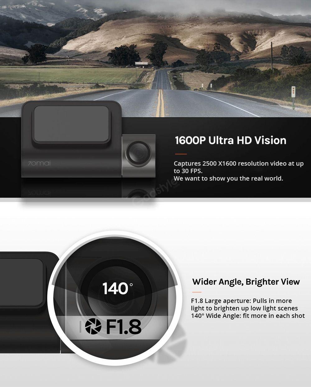 Xiaomi 70mai Midrive D05 Car Dvr Mini Dash Cam (8)