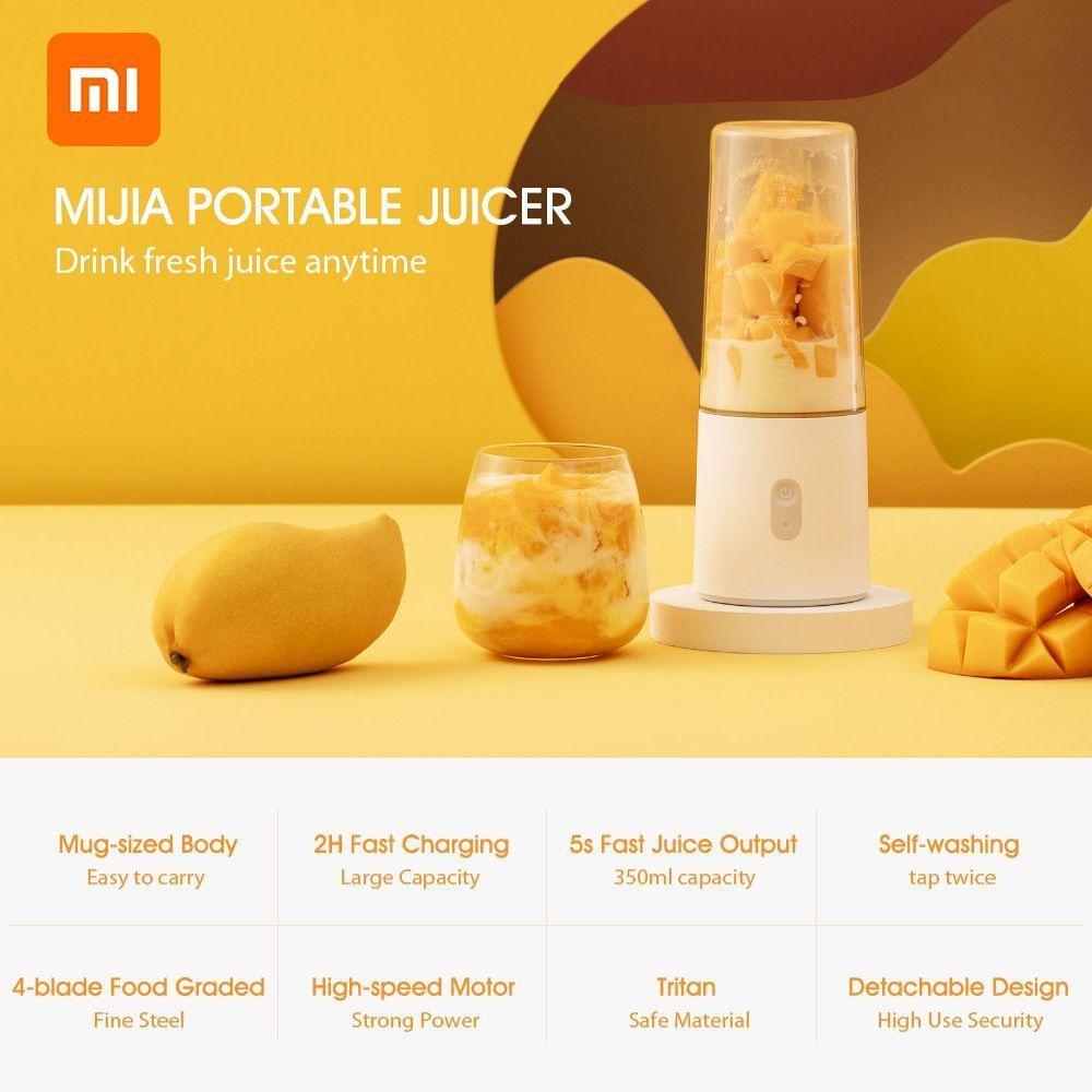 Xiaomi Mijia Portable Juicer Usb Electric Juicer 350 Ml (4)