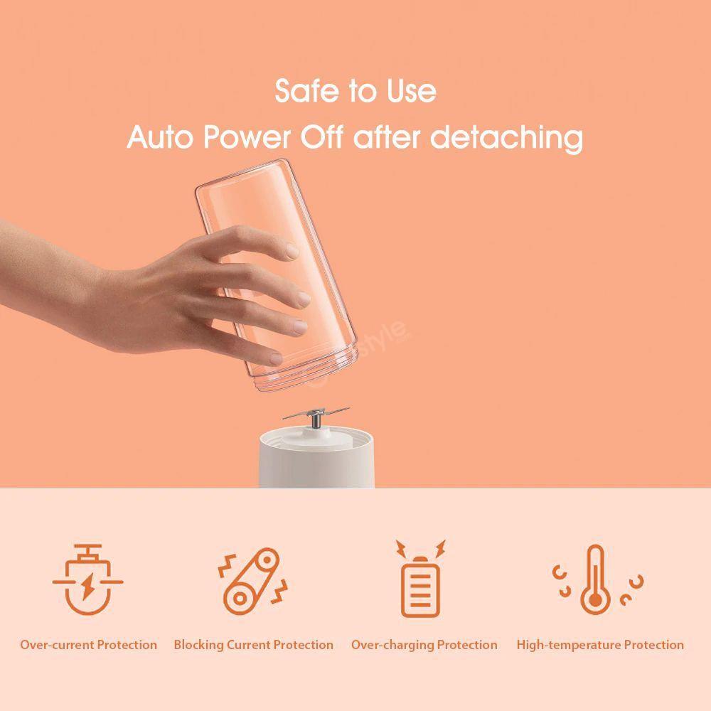 Xiaomi Mijia Portable Juicer Usb Electric Juicer 350 Ml (5)