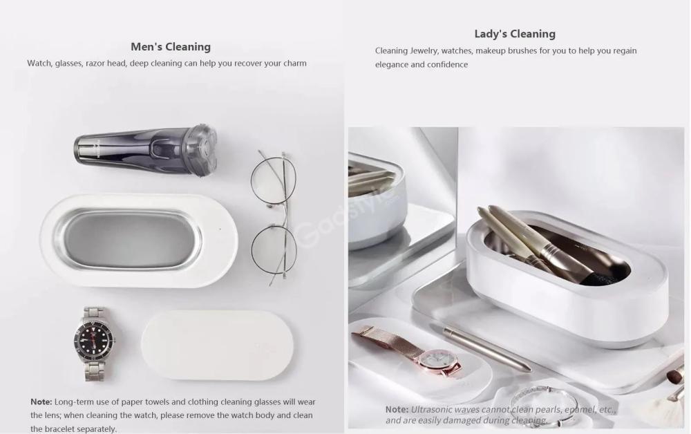Xiaomi Mijia Youpin Eraclean Ultrasonic Cleaning Machine (1)