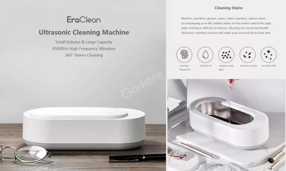 Xiaomi Mijia Youpin Eraclean Ultrasonic Cleaning Machine (3)