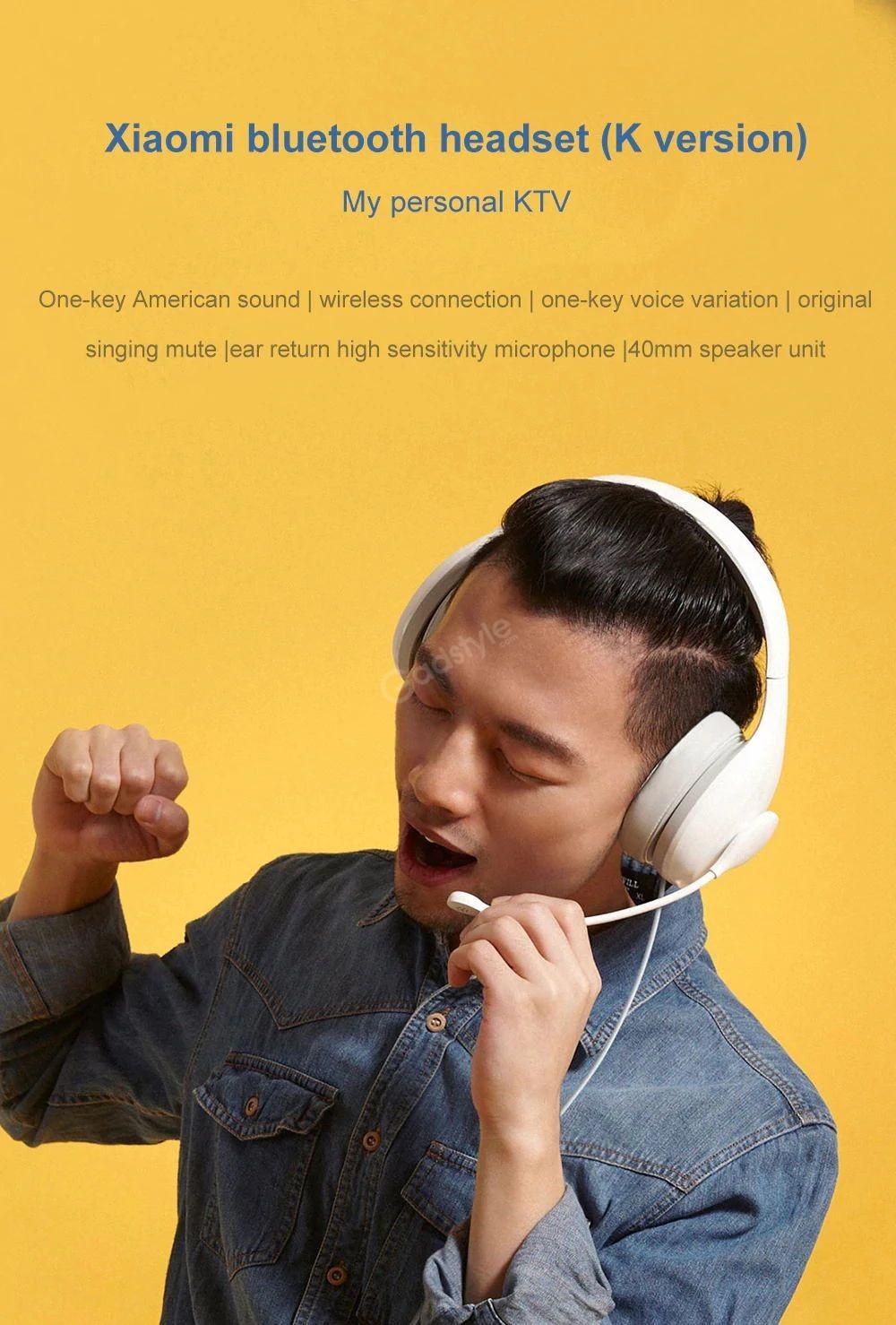 Xiaomi Ndz 18 Ai 40mm Speaker Wired Headphone With Microphone (3)