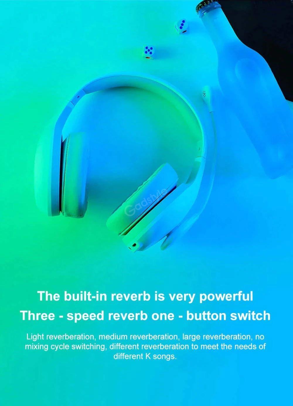Xiaomi Ndz 18 Ai 40mm Speaker Wired Headphone With Microphone (5)