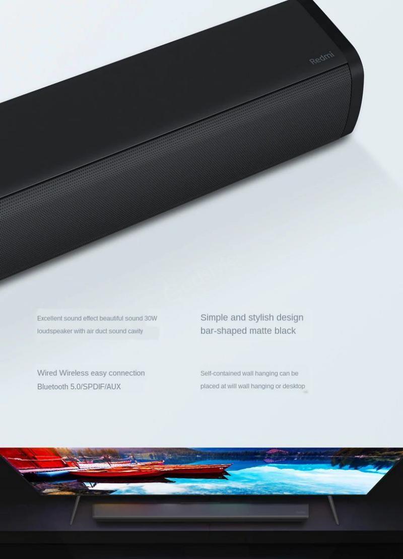 Xiaomi Redmi Tv Soundbar Wireless Bluetooth Speaker (2)