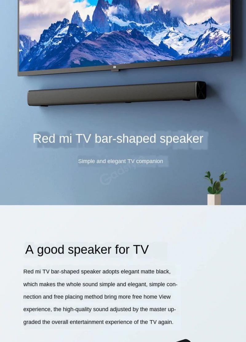 Xiaomi Redmi Tv Soundbar Wireless Bluetooth Speaker (4)